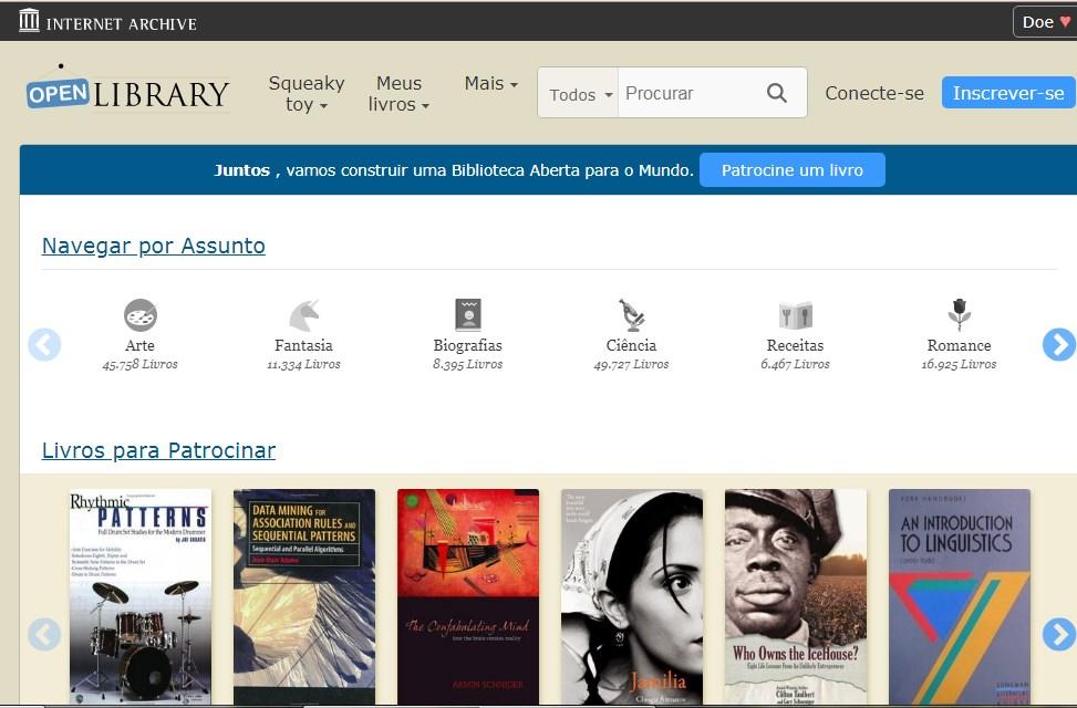 Baixar Livros Grátis - 03 Sites Para Baixar Livros Grátis
